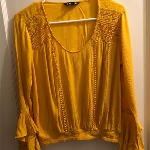 Gold/Mustard color blouse